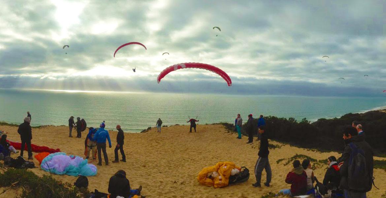 Paragliding Baptism!